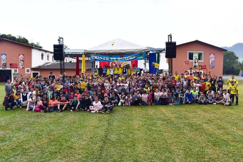"Colombia - 250 children and young people at 2019 ""Interoratorios"" event"