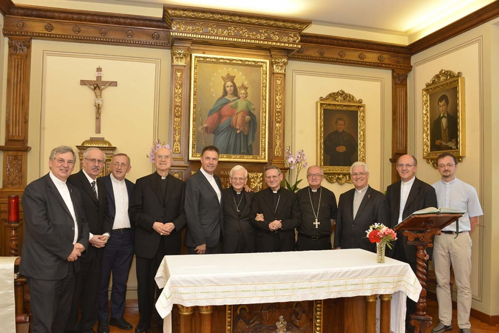 Vatican - Rector Major's Visit to Salesians of the Vatican