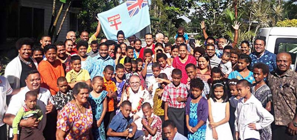 Fiji Islands Visit Of Fr Vaclav Klement