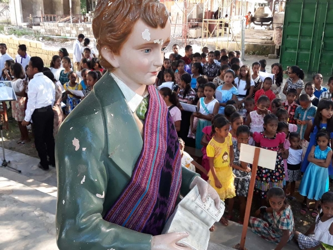 East Timor - A thousand young people celebrate Feast of Saint Dominic Savio