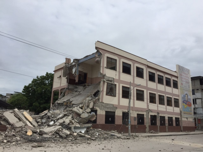 Ecuador - The San Jose School has to be demolished, but we will continue to educate with the heart of Don Bosco
