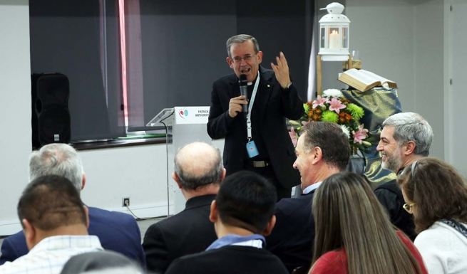 "Spain - Fr Attard: ""Youth ministry without family is not an authentic pastoral experience"""