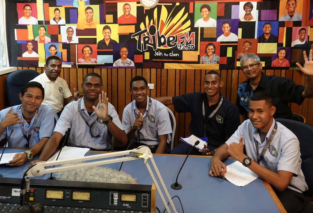 Papua New Guinea - Salesian students talk about climate change on the radio