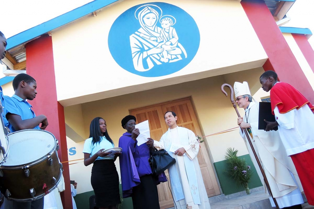 Swaziland – Blessing and Consecration of a New Church of Mary Help of Christians