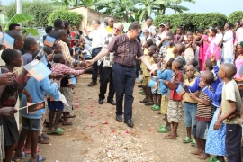 "Rwanda - The Rector Major: ""a young man who has no God within himself cannot be truly happy"""