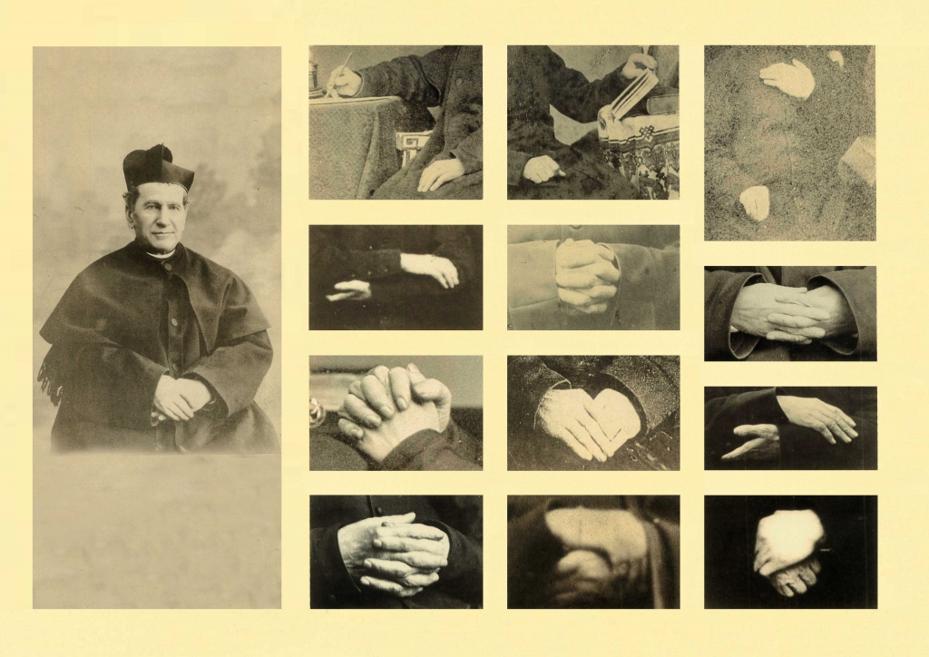 Italy – The hands of Don Bosco