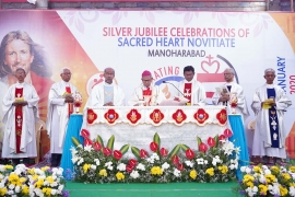 India – Sacred Heart Novitiate turns 25 in Province of St Joseph, Hyderabad