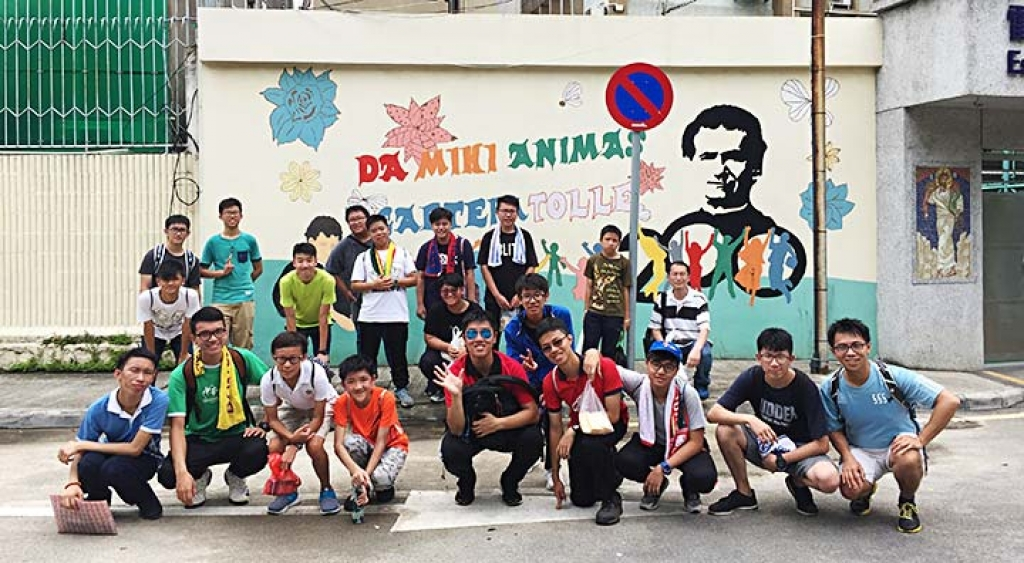 China - Salesian Vocations Camp for Boys of Hong Kong and Macau Presences