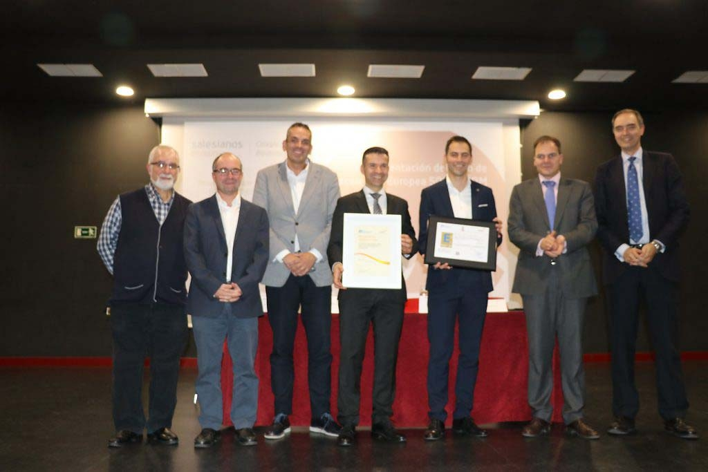 Spain - Two Salesian schools obtain European Mark of Excellence