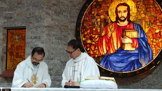 Philippines - Installation of new Director of the Specific Formation Community for the Salesian Brother