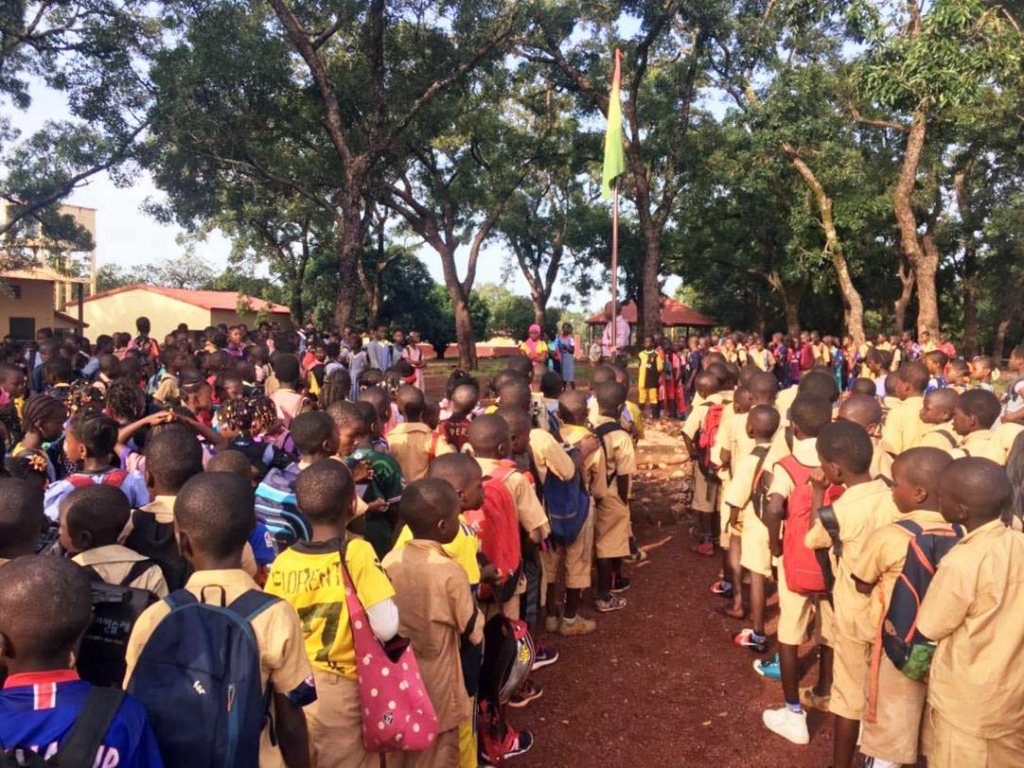 Guinea Conakry - Opening of academic year of Salesian schools in Siguiri