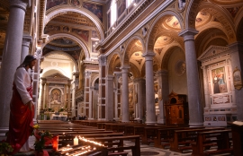 The Church of the Sacred Heart of Jesus in Rome, where Don Bosco wept during Mass