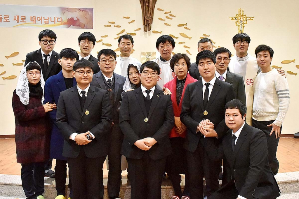 South Korea - First Professions of three Salesians
