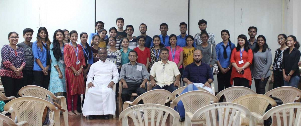 "India - Fifth screenplay session for students of ""DBC Film Club"""