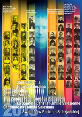RMG - The Poster of Salesian Holiness - 2018