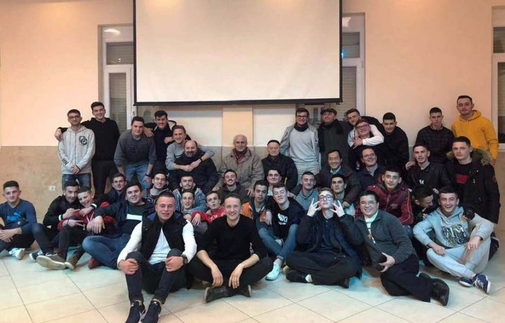 Albania – Fr Basañes on Animation Visit to Scutari