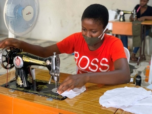 Nigeria – Girls develop tailoring and business skills to help achieve self-sufficiency