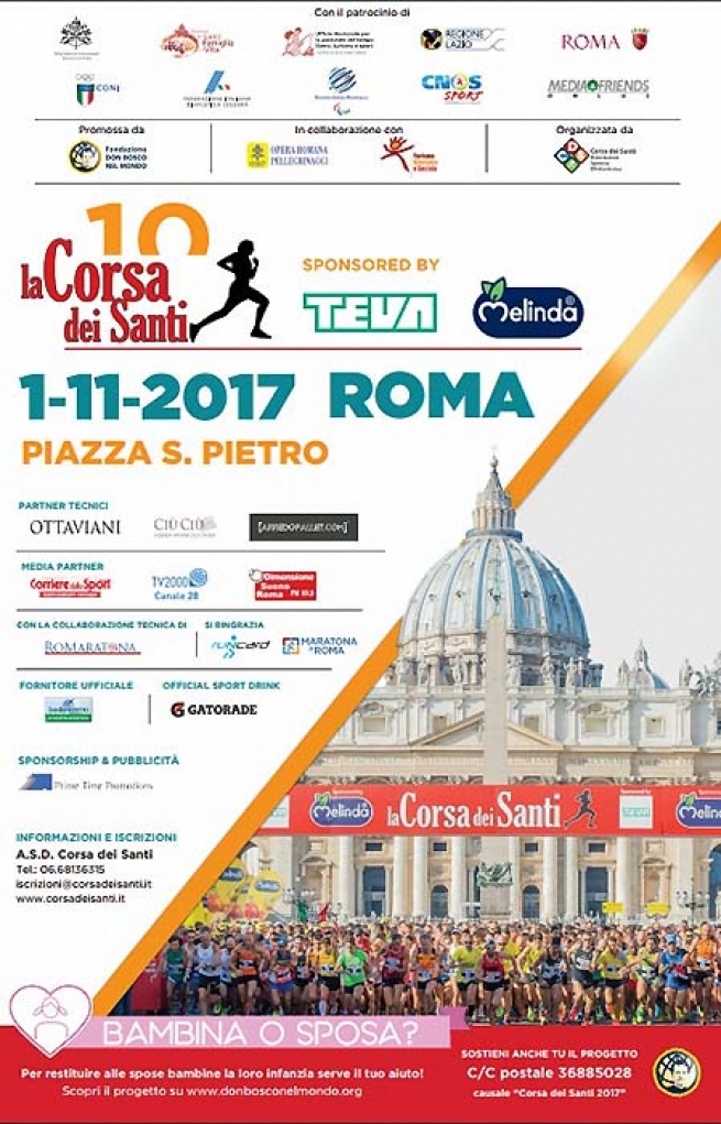 Italy - Little Girl or Bride? Race of Saints 2017 and its solidarity project