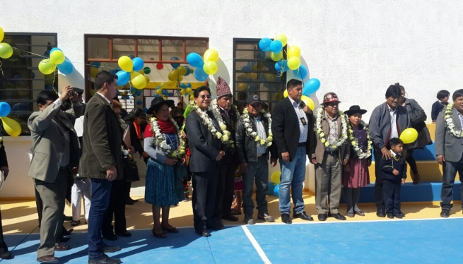 "Bolivia - President of Bolivia delivers a new infrastructure at ""Convenio Don Bosco"""