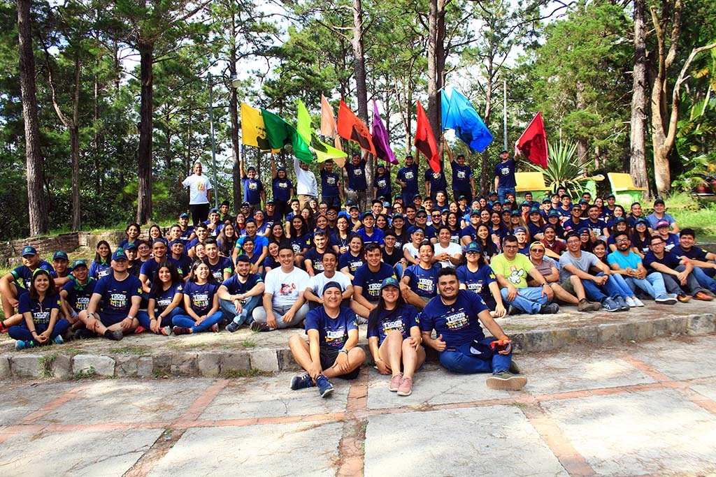 El Salvador - National Bosco Camp for young leaders of SYM