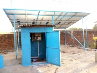 """Burkina Faso – """"Don Bosco Center"""" in Bobo-Dioulasso has new solar water pump thanks to funding from Salesian Missions 'Clean Water Initiative'"""