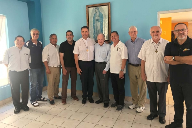 Mexico - Rector Major again in Tijuana to meet US Salesians