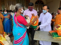 India – Hyderabad Province starts second phase of assistance to needy