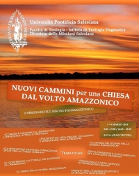 Italy - New paths for a Church with an Amazonic face: Pan-Amazonic Seminar at Salesian Pontifical University