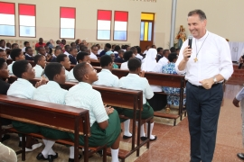 Rwanda - Rector Major's encouragement to Salesian Family