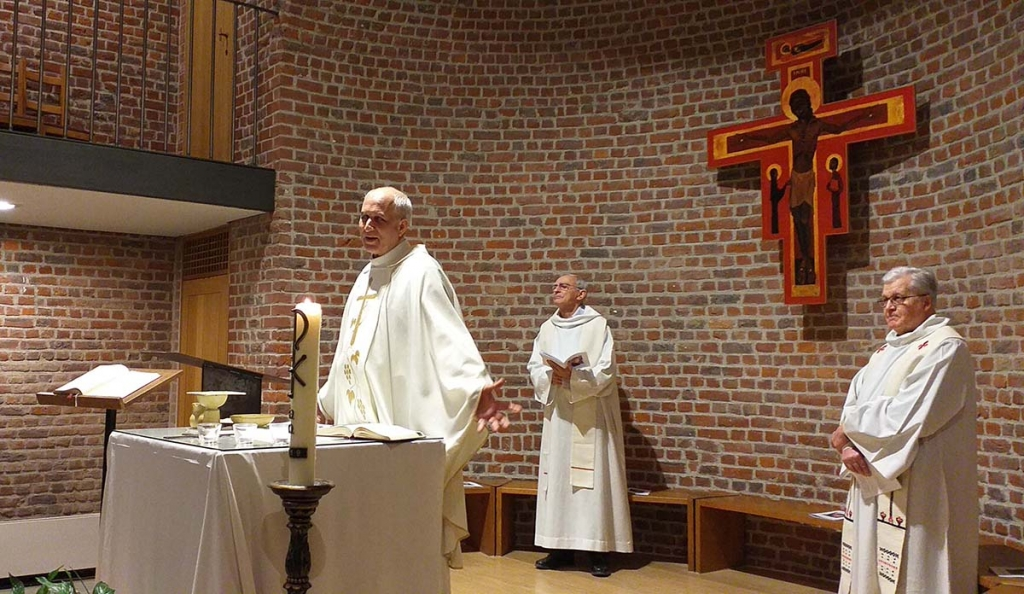 Belgium – Fr Basañes celebrates Mass for Don Bosco in Brussels