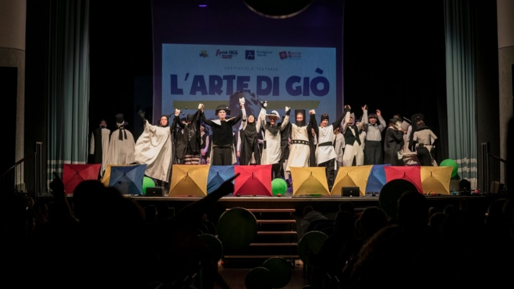 "Italy - The Spirituality Days of Salesian Family end with theatrical show: ""L'arte di Giò"""