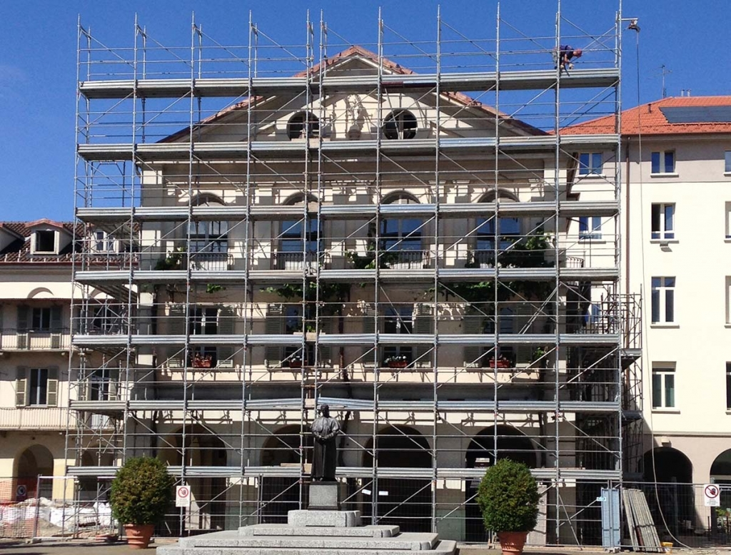 "Italy - Restoration work began on ""Camerette di Don Bosco"""