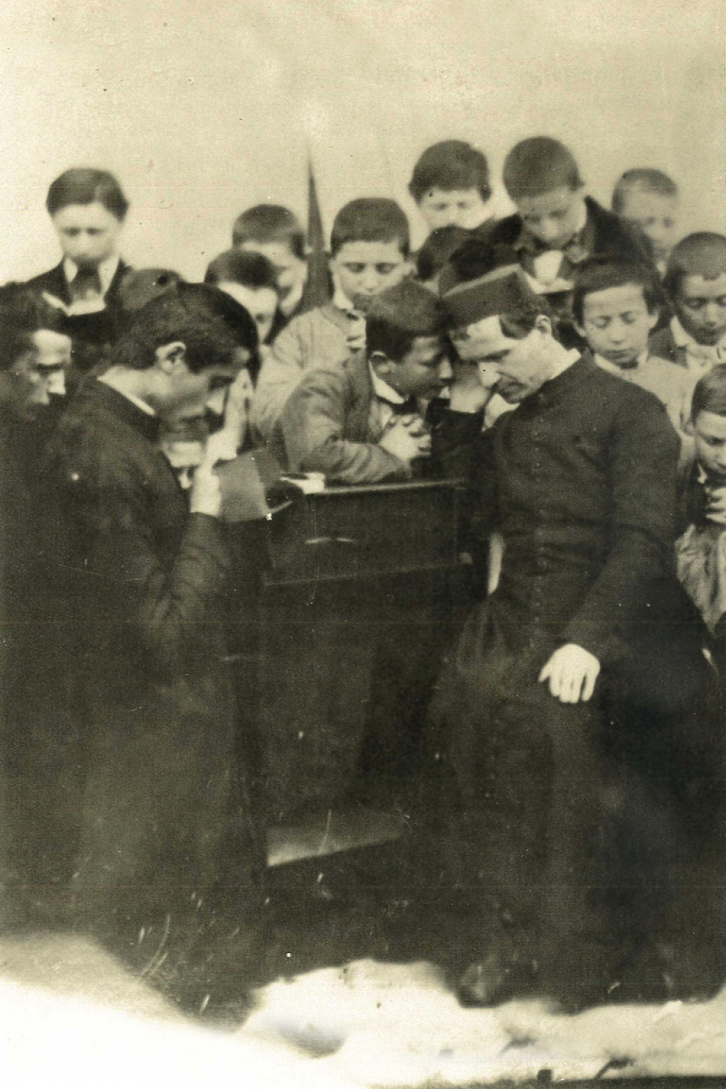 "Italy – The most beautiful photo: ""Don Bosco, priest, father and pastor"""
