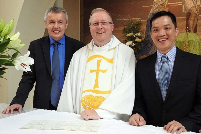 Great Britain - Perpetual Profession of Kevin O'Donnell and Joseph Duc Dao Quoc