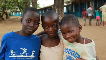 Sierra Leone - Faces that speak of the future