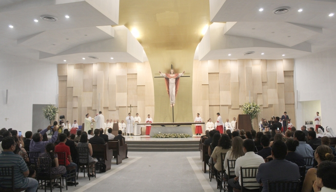 El Salvador - Inauguration of Temple dedicated to Holy Family