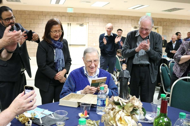 "United States - Thank you, Fr Arthur, because with you many have rediscovered Don Bosco! ""Arthur Lenti. Memory, presence and hope"""