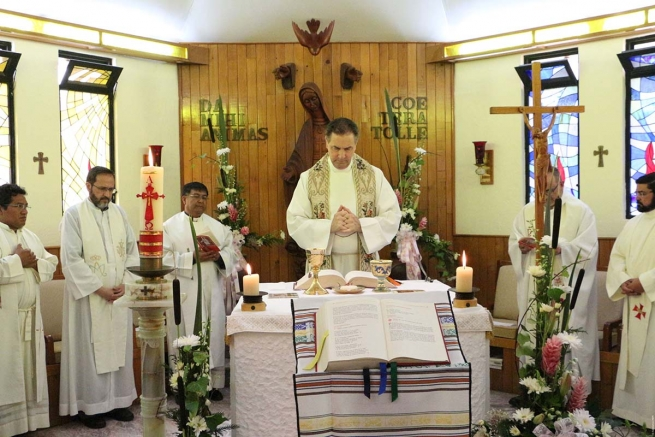 "Mexico - Rector Major: ""Today it's very important to bear witness by our lives if we are to be credible and convincing"""