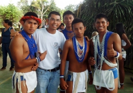 With the indigenous people i discover more and morethe call of god for me