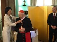 Vatican – Emperor of Japan confers Order of Rising Sun to card. Raffaele Farina, Salesian