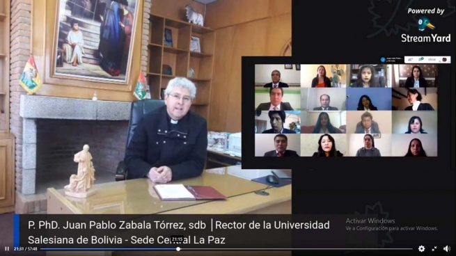 Bolivia – First online graduation ceremony at Salesian University of Bolivia