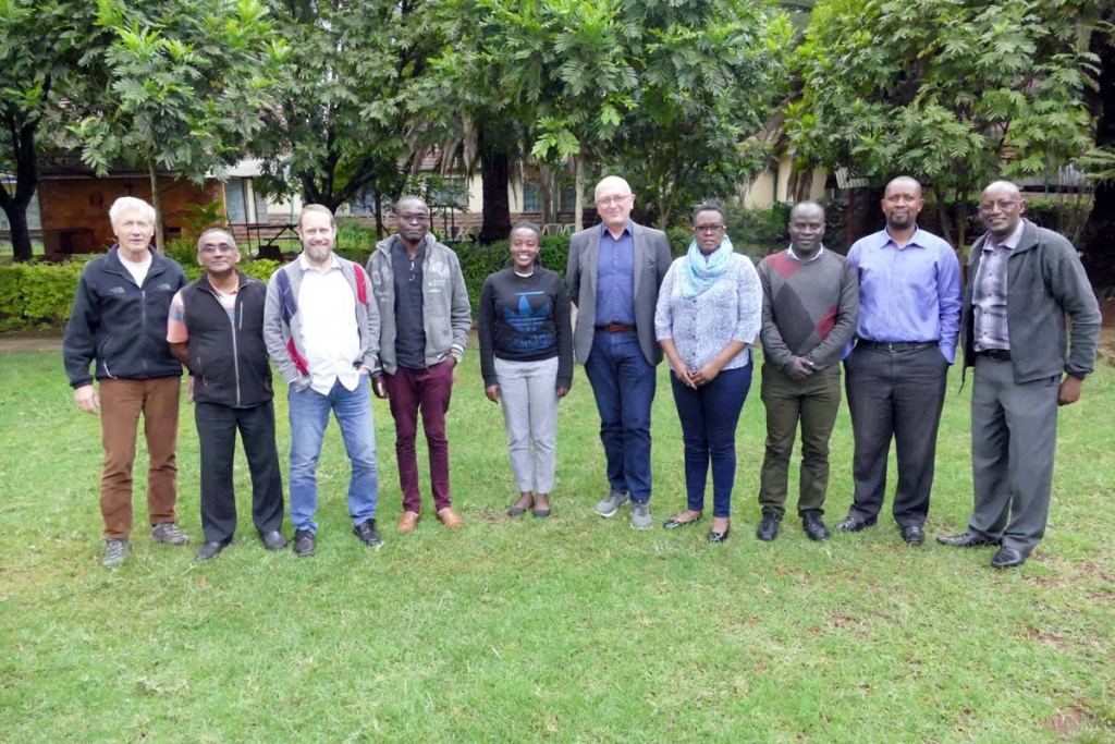 "Kenya - Meeting of Economer General with ""Don Bosco Tech Africa"""