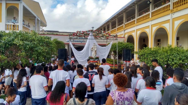 Brazil - Opening of the Marian Month