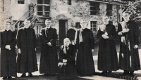 Italy – Six Salesians of Tardivo Ghibaudo family, with their mother, in historical photo