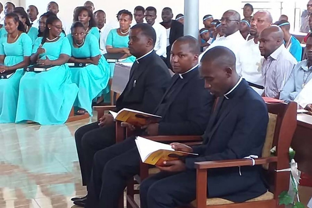 Rwanda - Perpetual Profession of three Salesians