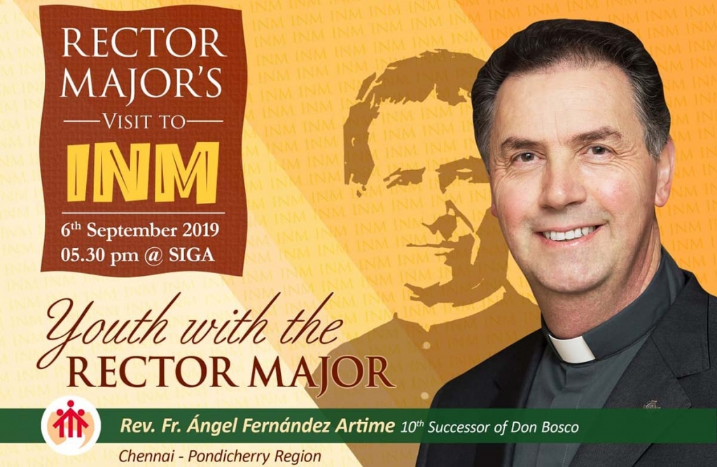 RMG – Rector Major's Journey to India: first stop in Chennai
