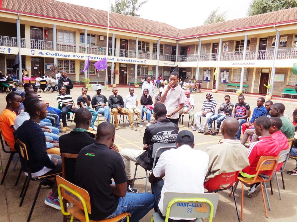 "Kenya - ""Youth Fest"" program for young people of Don Bosco Boys' Town"