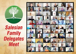 RMG – First online meeting of the Provincial Delegates for the Salesian Family in the world
