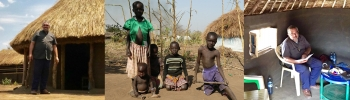 Uganda - The extreme poverty of the missionaries in their new mission in Palabek refugee camp
