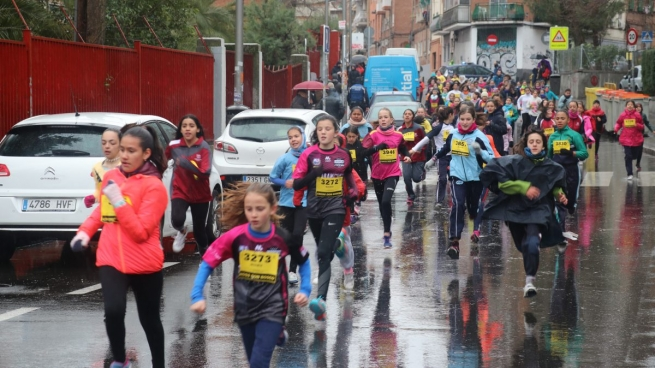 Spain - 50th Edition of Cross Don Bosco